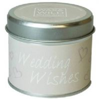 Sentiments Candle in Tin - Wedding Wishes